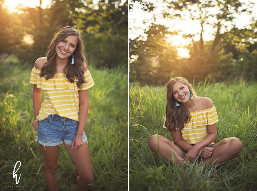 summer senior photo wardrobe inspiration