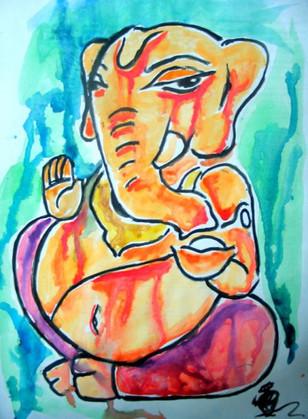 Drops of Ganesh.
