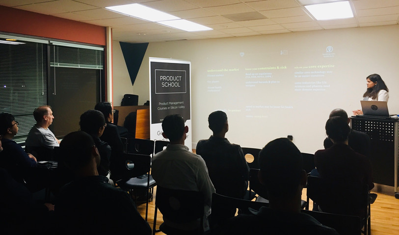 Presenting @ Product School Silicon Valley
