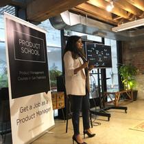 Presenting @ Product School SF