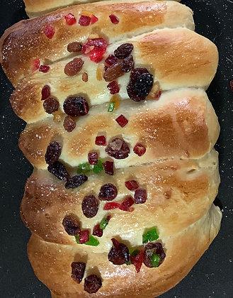 Mixed fruits delight bun