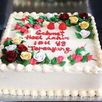 Flora garden cake (1kg)