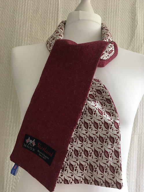 Claret twill and Red Leaf