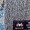 Thumbnail: Blue Herringbone Merino Lambswool with Liberty Spitafield Tana Lawn