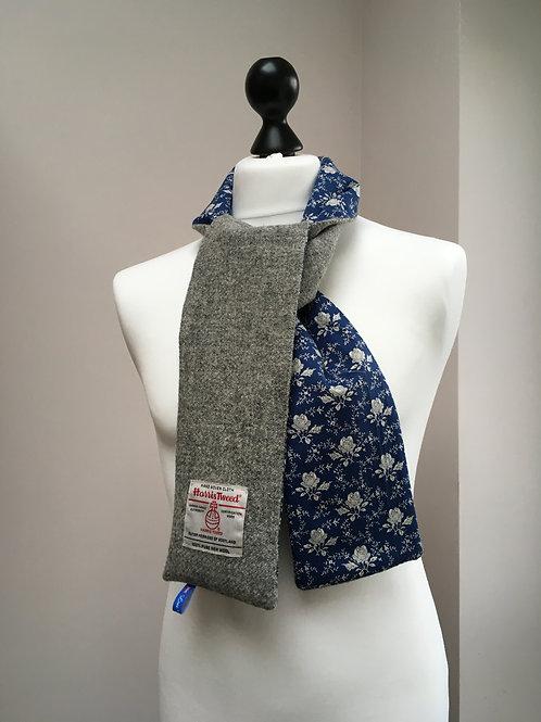 Harris Tweed Grey and White Rose