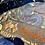 Thumbnail: Mid Grey Shetland with Liberty Floral Edit Tana Lawn