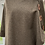 Thumbnail: Taupe Merino Lambswool with Liberty Christelle Tana Lawn