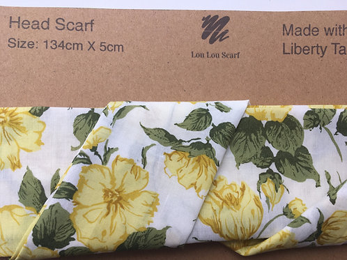 Yellow Carline Rose Liberty Tana Lawn