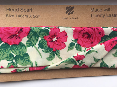 Carline Pink Rose Liberty Lasenby