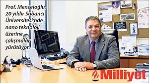 Yusuf Menceloğlu, ofis ortamında. Milliyet Logo