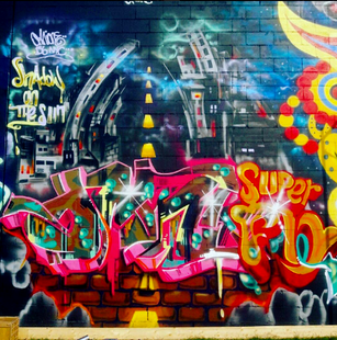 Anthill Productions Mural