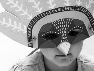 Pandemic Shutdown Paper Bag Mask Project
