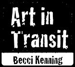 Art in Transit Becci Kenning Visual Artist Surrey