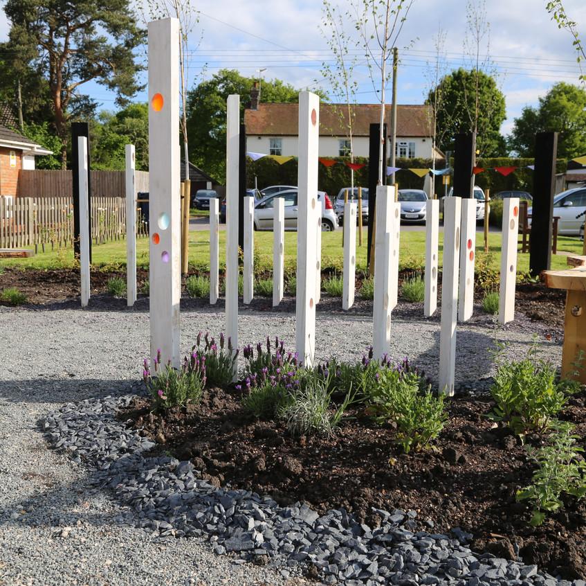 Smallfield Community Art Garden. Sur