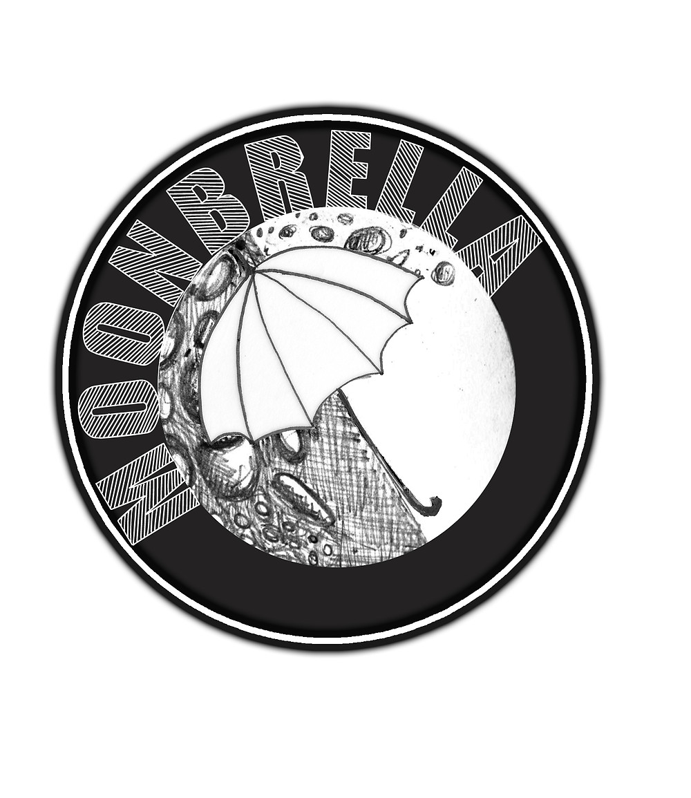 The first Logo of the Multi Sensory Theatre piece 'Moonbrella'