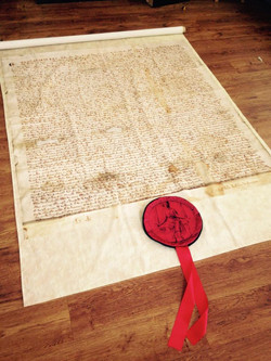 Magna Carta prop