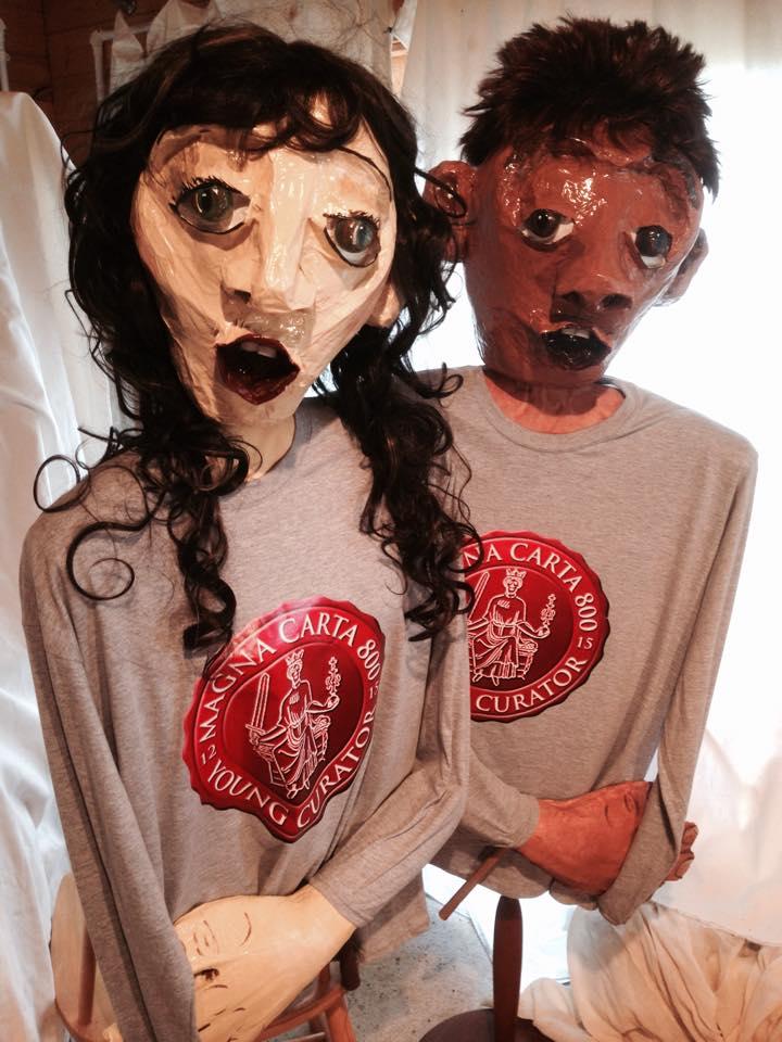 Magna Carta puppets