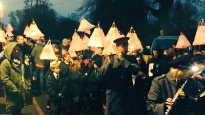 Lantern Parade season