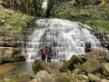 西表島の中心に位置するマヤグスクの滝