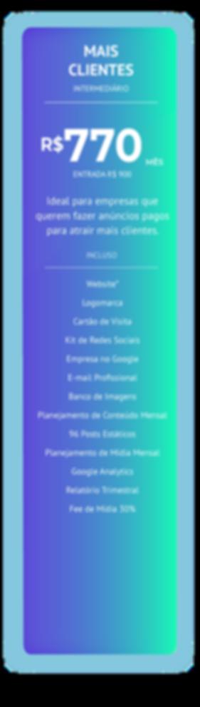 Mais Clientes - Infinity Digital Marketi