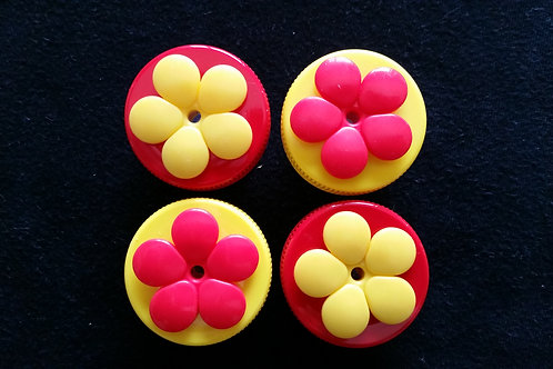 (4) Pack - Red & Yellow Nectar DOTS