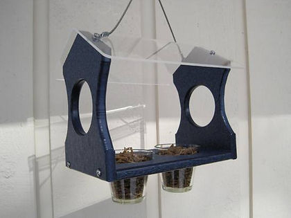 Meal Worm Bluebird Feeder - Nature Products USA bluebird feeder holds 400+ meal worms.