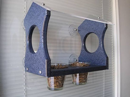 Nature Products USA - Bluebird Window Bird Feeder