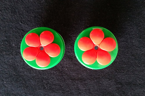 (2) Pack - Green Nectar DOTS Handheld Feeders
