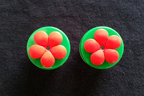 (2) Pack - Green Nectar DOTS Handheld Feeders