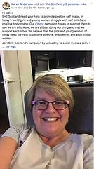 Real women SHE Scotland It is ME