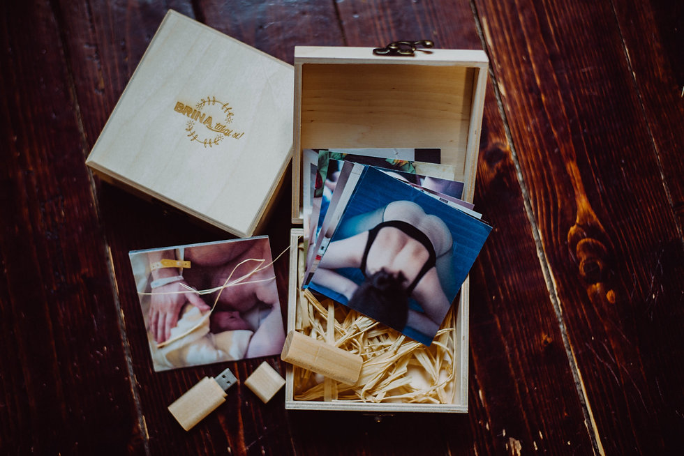 Končni izdelek - porodna zgodba