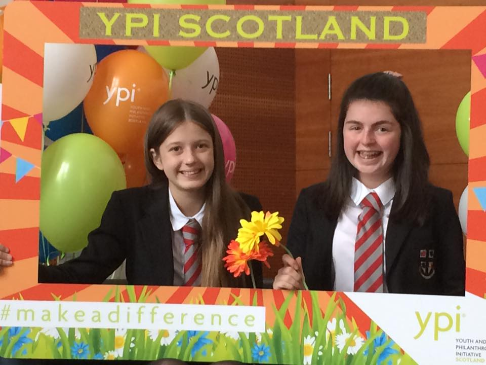YPI Winners Caitlin and Jorja