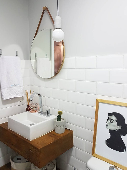 Espelho Bolacha Caramelo