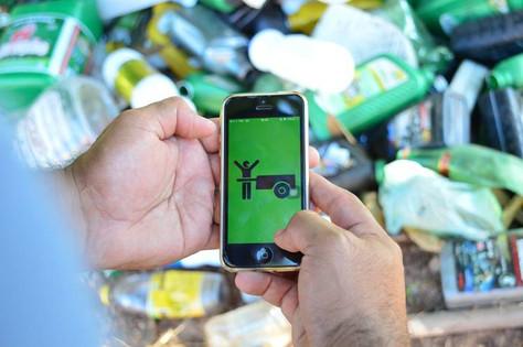 App de reciclagem incentiva descarte correto de lixo! <3