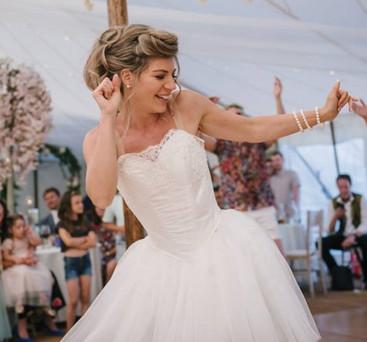Ivory wedding tutu