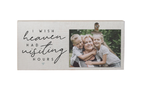 Visiting Hours Sympathy Photo Clip