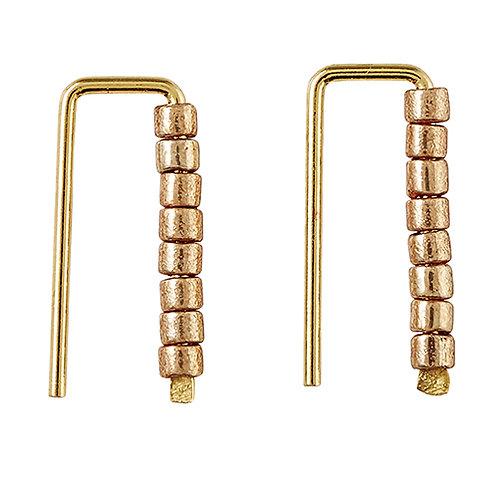 Chemistry Earring - Gold