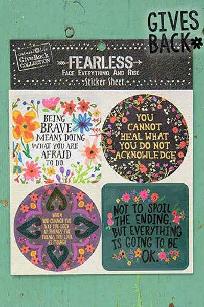 Be Brave Sticker Sheet