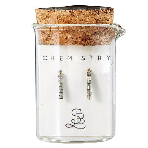 Chemistry Earring - Labradorite