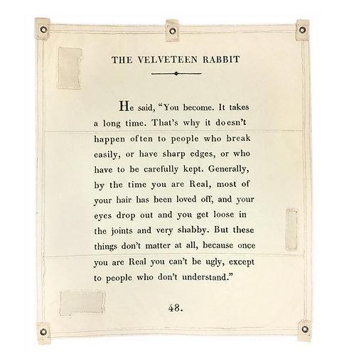Velveteen Rabbit Wall Tarp