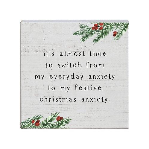 Christmas Anxiety Block