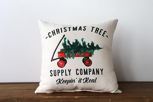 Christmas Tree Supply Company Pillow