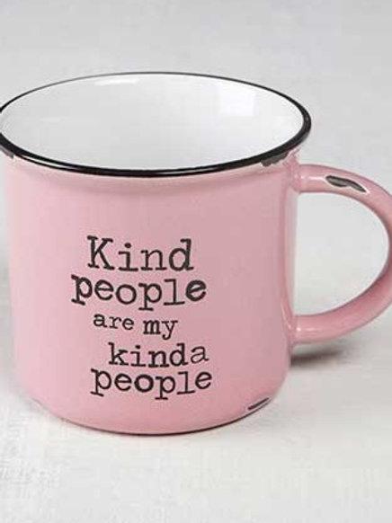 Kind People Campfire Mug