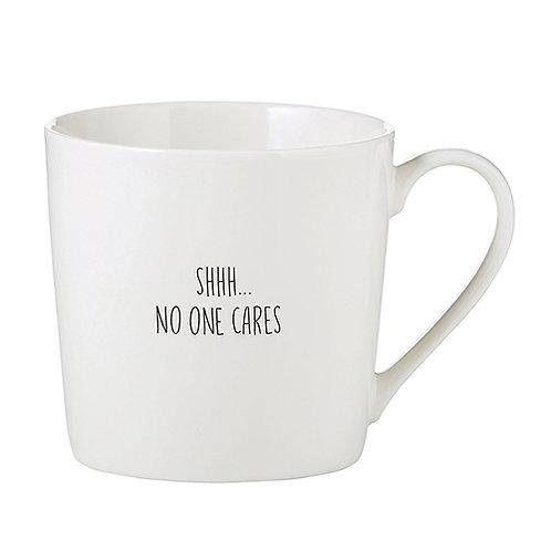 No One Cares Cafe Mug