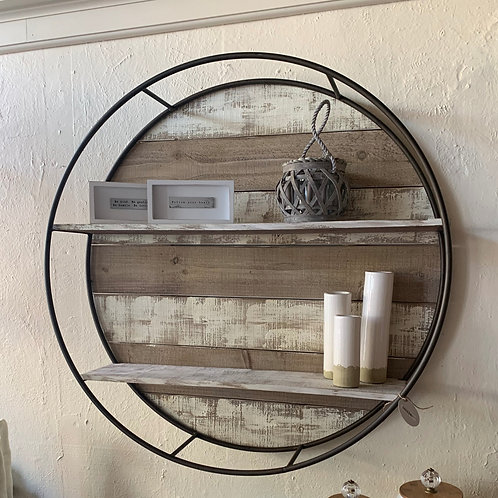 Circle Wall Shelf Display