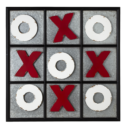 Wall Magnetic Tic Tac Toe Board