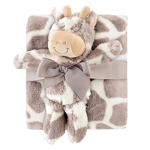 Giraffe Blanket Gift Set