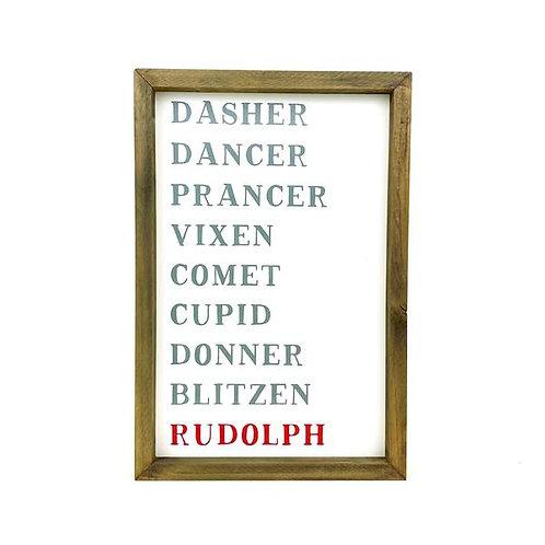 Reindeers Sign