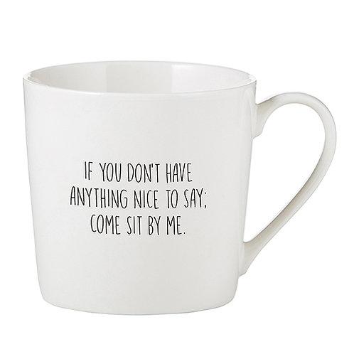 Nice to Say Cafe Mug