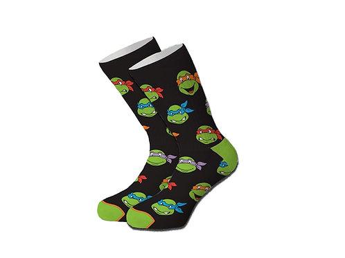 Cool Socks Kids - Retro Turtle Head
